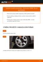 Doporučení od automechaniků k výměně MERCEDES-BENZ Mercedes W169 A 150 1.5 (169.031, 169.331) Odpruzeni
