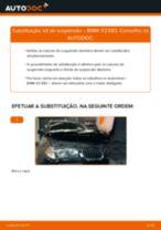 Como mudar kit de suspensão da parte dianteira em BMW X3 E83 - guia de substituição