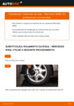 Substituindo Jogo de rolamentos de roda em Mercedes Vito Tourer - dicas e truques