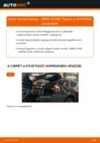 Hátsó toronycsapágy-csere BMW X3 E83 gépkocsin – Útmutató