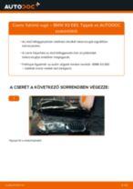 Elülső futómű rugó-csere BMW X3 E83 gépkocsin – Útmutató