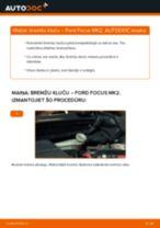 Kā nomainīt: aizmugures bremžu klučus Ford Focus MK2 - nomaiņas ceļvedis