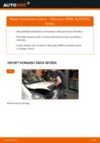 Mainīties MERCEDES-BENZ A-CLASS (W168) Amortizators - soli-pa-solim pamācības PDF