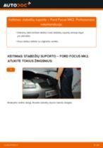 FORD gale ir priekyje Stabdžių apkaba keitimas pasidaryk pats - internetinės instrukcijos pdf