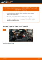 Kaip pakeisti BMW X3 E83 atraminio guolio: galas - keitimo instrukcija