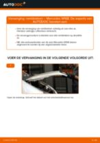Remblokken vervangen MERCEDES-BENZ A-CLASS: werkplaatshandboek