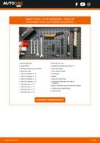 Manual online sobre a substituição de Amortecedor de suspensão em BMW 3 (E90)