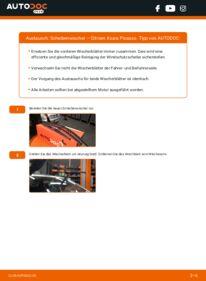 Wie der Wechsel durchführt wird: Scheibenwischer 2.0 HDi Citroen Xsara Picasso tauschen