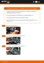 Hoe ruitenwissers vooraan vervangen bij een Ford Fiesta V JH JD – Leidraad voor bij het vervangen