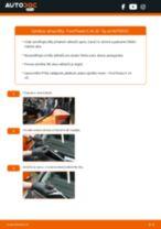 Jak vyměnit přední stírací lišty na Ford Fiesta V JH JD – návod k výměně