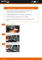 Kā nomainīt: priekšas logu slotiņas Ford Fiesta V JH JD - nomaiņas ceļvedis