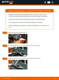 Wie der Wechsel durchführt wird: Scheibenwischer 1.4 TDCi Ford Fiesta Mk5 tauschen