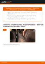 Jak wymienić i wyregulować Amortyzatory BMW 5 SERIES: poradnik pdf