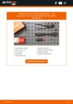 Tutorial passo a passo em PDF sobre a substituição de Pinças de Travão no VW KOMBI Bus (T2)