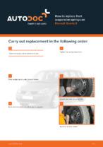 RENAULT - repair manual with illustrations