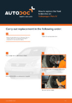VW - repair manual with illustrations