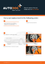 AUDI - repair manual with illustrations