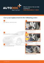 MERCEDES-BENZ - repair manual with illustrations