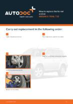 NISSAN - repair manual with illustrations