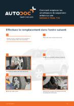 NISSAN - manuel de réparation avec illustrations