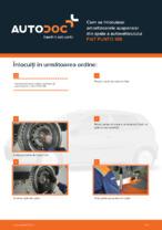 Cum se înlocuiesc amortizoarele suspensiei din spate a autovehiculului FIAT PUNTO 188
