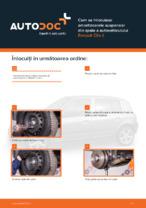 Cum se înlocuiesc amortizoarele suspensiei din spate a autovehiculului Renault Clio II