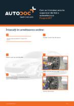 Cum se înlocuiesc arcurile suspensiei din față a autovehiculului Peugeot 407