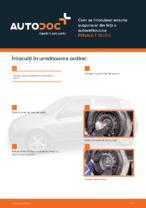 Cum se înlocuiesc arcurile suspensiei din față a autovehiculului RENAULT CLIO II