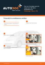 Cum se înlocuiesc arcurile suspensiei din față a autovehiculului Volkswagen Sharan 7M