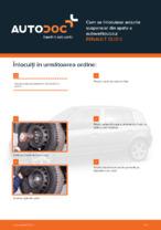 Cum se înlocuiesc arcurile suspensiei din spate a autovehiculului RENAULT CLIO II