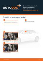 Cum se înlocuiesc arcurile suspensiei din spate a autovehiculului VOLKSWAGEN PASSAT B6