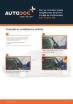 Cum se înlocuiesc lamele ștergătoarelor de parbriz din față ale automobilului FIAT PUNTO 188
