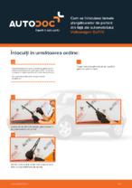 Cum se înlocuiesc lamele ștergătoarelor de parbriz din față ale automobilului Volkswagen Golf IV