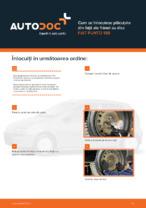 Cum se înlocuiesc plăcuțele din față ale frânei cu disc FIAT PUNTO 188