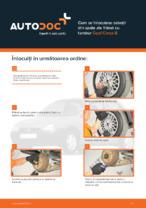 Cum se înlocuiesc saboții din spate ale frânei cu tambur Opel Corsa B