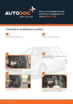 Cum se înlocuiește bara de stabilizare a suspensiei din față la BMW 3 E90