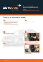 Cum se înlocuiește bara de stabilizare a suspensiei din față la Mercedes-Benz E-Class W211