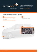 Cum se înlocuiește bara de stabilizare a suspensiei din față la RENAULT CLIO II