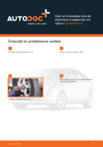 Cum se înlocuiește bara de stabilizare a suspensiei din față la Toyota Prius II