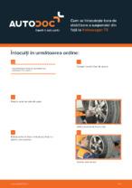 Cum se înlocuiește bara de stabilizare a suspensiei din față la Volkswagen T5