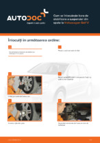Cum se înlocuiește bara de stabilizare a suspensiei din spate la Volkswagen Golf V