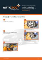 Cum se înlocuiește brațul inferior al suspensiei independente din față la Ford Fiesta V