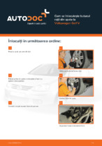 Cum se înlocuiește butucul roții din spate la Volkswagen Golf V