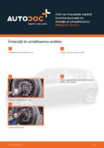 Cum se înlocuiește capătul barei transversale de direcție al autovehiculului RENAULT CLIO II