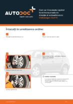 Cum se înlocuiește capătul barei transversale de direcție al autovehiculului Volkswagen Golf IV