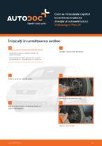 Cum se înlocuiește capătul barei transversale de direcție al autovehiculului Volkswagen Polo IV