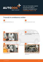 Cum se înlocuiește capătul barei transversale de direcție al autovehiculului Volkswagen Sharan 7M