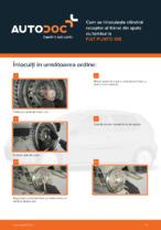 Cum se înlocuiește cilindrul receptor al frânei din spate cu tambur la FIAT PUNTO 188