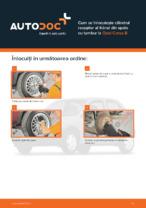 Cum se înlocuiește cilindrul receptor al frânei din spate cu tambur la Opel Corsa B