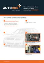 Cum se înlocuiește discul de frână din față al automobilului BMW 3 E90
